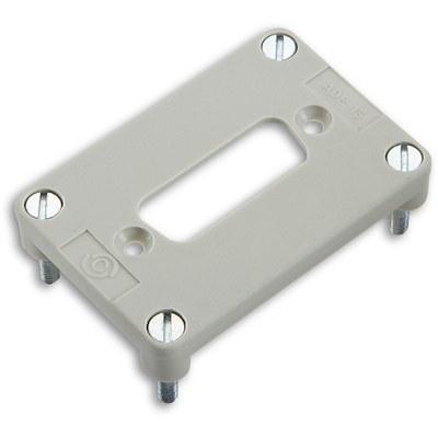 EPIC® Adapterplatten für 1 D-Sub Einsatz