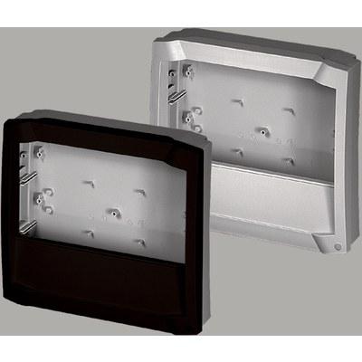 BOCARD - Frontram öppen med integrerat plintlock BCD...FO-K för frontpanel  BCD FP...K
