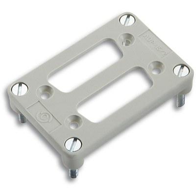 EPIC® Adapterplatten für 2 D-Sub Einsätze