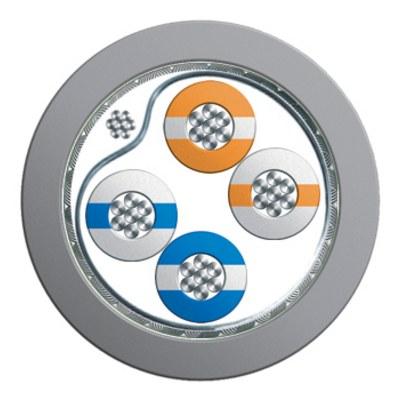 FireFighter 440-series - Dubbelskärmad partvinnad datakabel