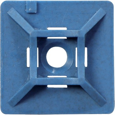 Detectable cable tie sockets