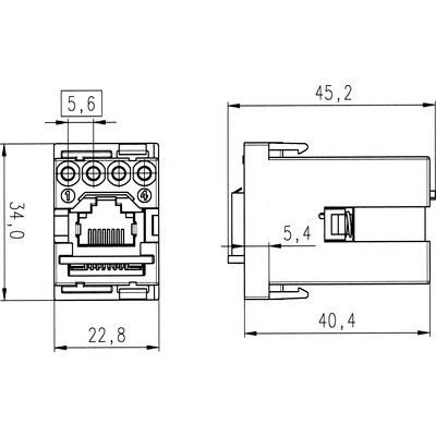 EPIC® MC Module: RJ45