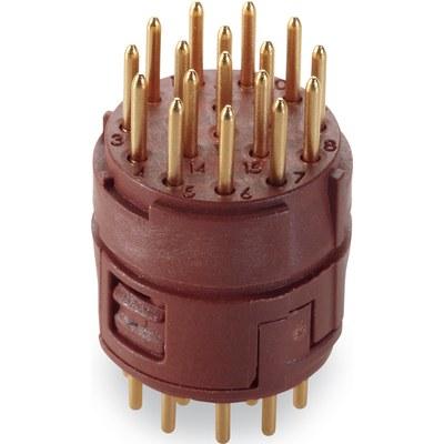 Inserts 17 pôles soudure PCB EPIC® SIGNAL M23