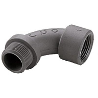 90° adapter M- & PG-gänga