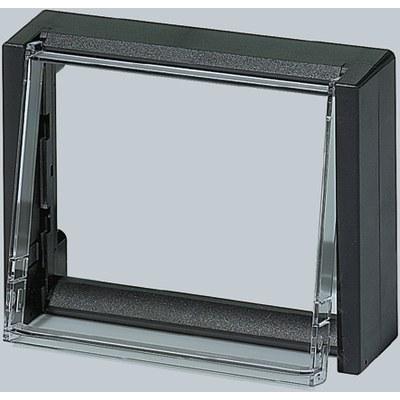 CombiCard kapslingsdel front - Frontram öppen FCT..FP med transparent skyddsdörr