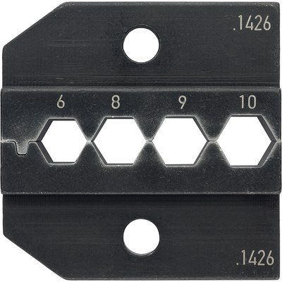 PEW 12 Crimping inserts for SHIELD-KON® screen connectors