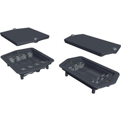BE...IP - Batterifack för inbyggnad med hög skyddsklass, IP65