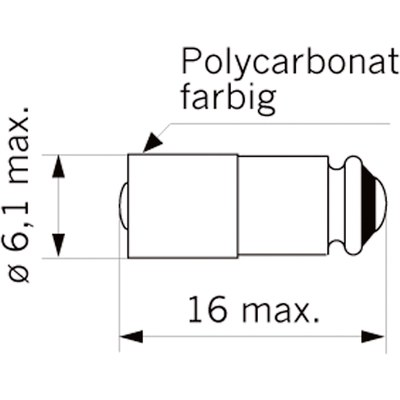LED T1 ¾ MG StarLED 15121