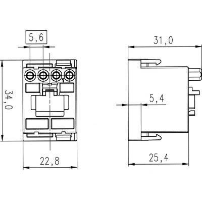 EPIC® MC modulinsats: RJ45