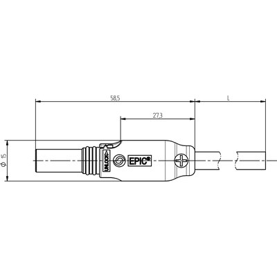 EPIC® SOLAR F (розетка) с кабелем