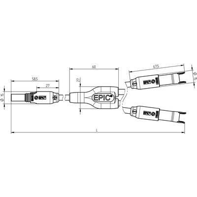 EPIC® SOLAR FMM Y-Splitter