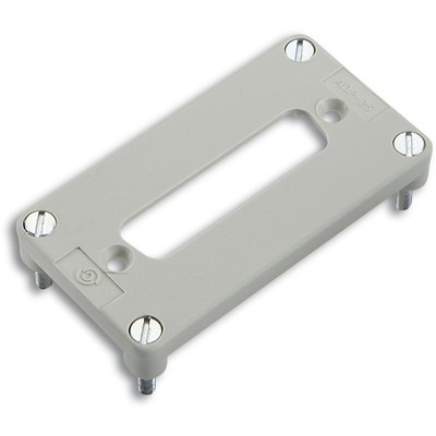 EPIC® Adapter plates for 1 D-Sub insert