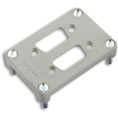 EPIC® Adapter plates for 2 D-Sub inserts