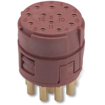 EPIC® SIGNAL M23 Inserts 12 pole