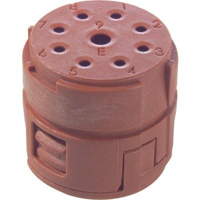 EPIC® SIGNAL M23 Inserts 8+1 pole