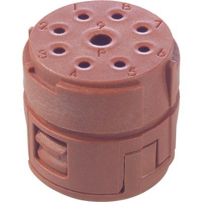 EPIC® SIGNAL M23 Insert cu 8+1 pini