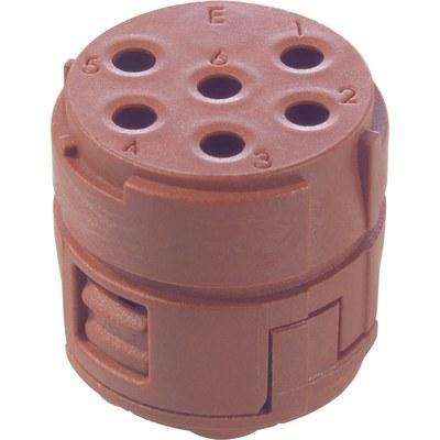 EPIC® SIGNAL M23 Inserts 6 pole