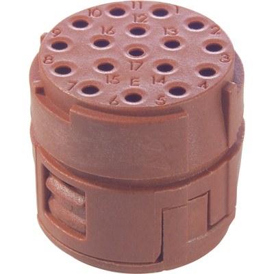 EPIC® SIGNAL M23 Inserts 17 pole D-Sub