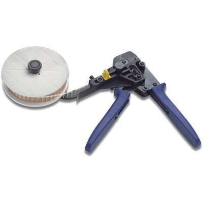 Crimping tool for contacts-on-reel D-Sub