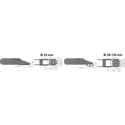 Ändfästen standard UNIFLEX 0455