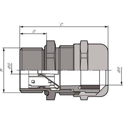 SKINTOP® MS-HF-M SC