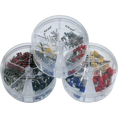 DIN-assorted boxes conductor end sleeves