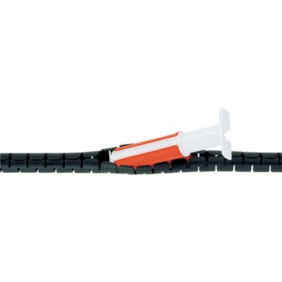 Spiralslang för kabelbuntning