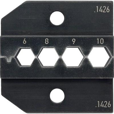 PEW 12 insatser för SHELD-KON®-skärmanslutningsdon