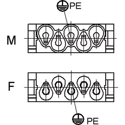 Модуль EPIC® MC: HC4+заземление