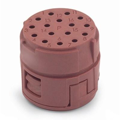 EPIC® SIGNAL M23 Inserts 16 pole