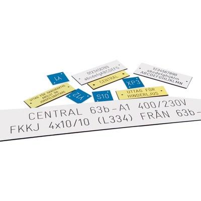FLEXIMARK® Graverade skyltar BMK-FCC - komponentmärken